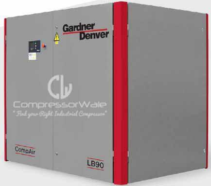 Gardner Denver Compair Rotary Screw Air Compressors