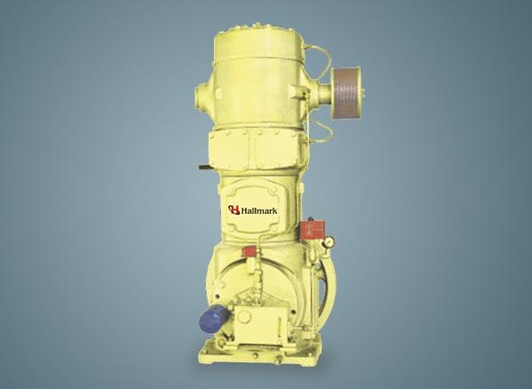Hallmark Vertical Type Large Reciprocating Air Compressor