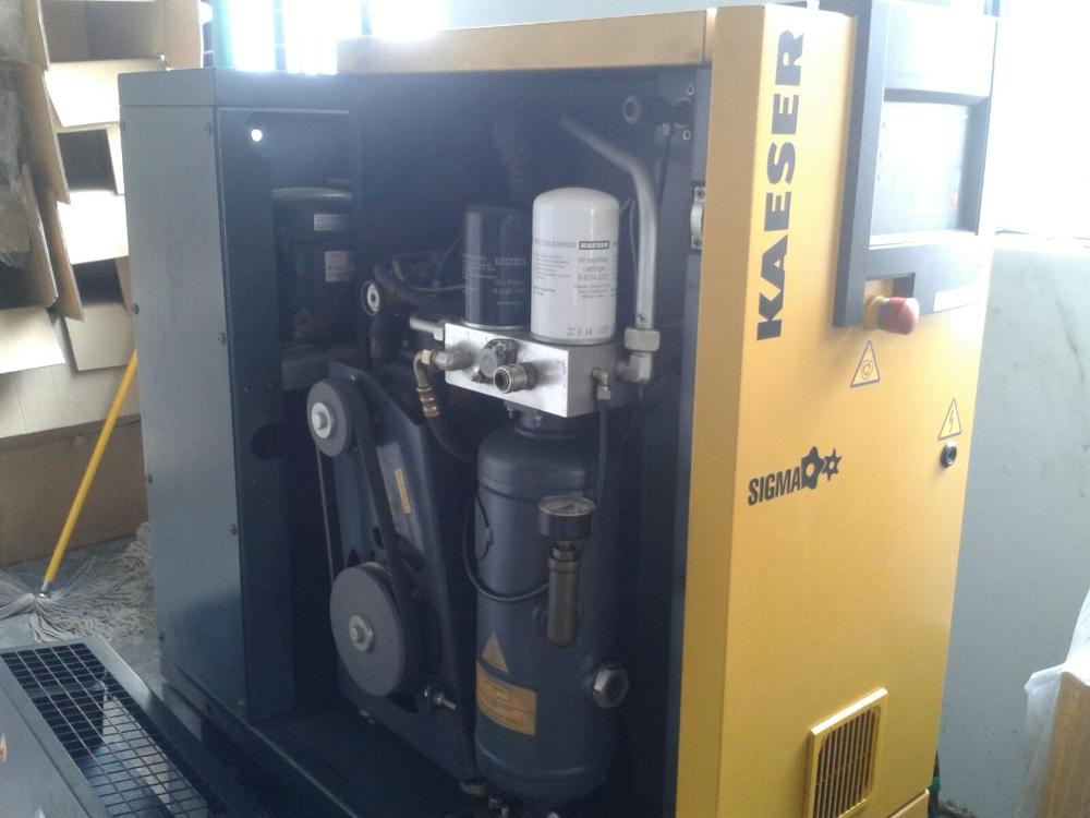 Atlas Copco, ELGI, Kaeser, Ingersoll Rand, CP Used Screw Air Compressors, Chennai