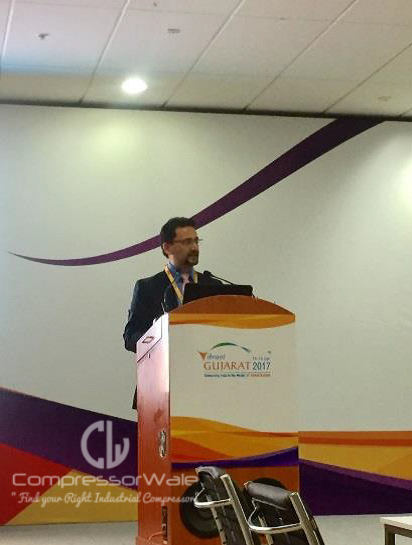 Amar Kaul at Vibrant Gujarat