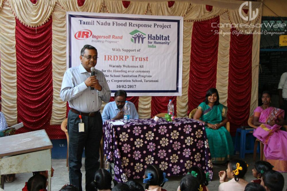 Ingersoll Rand School Sanitation Program
