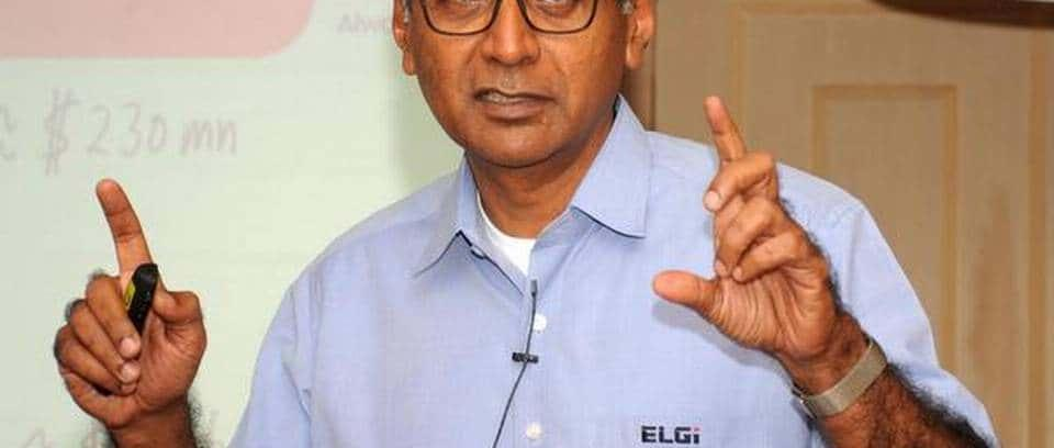 Jairam Varadaraj of ELGi Equipments