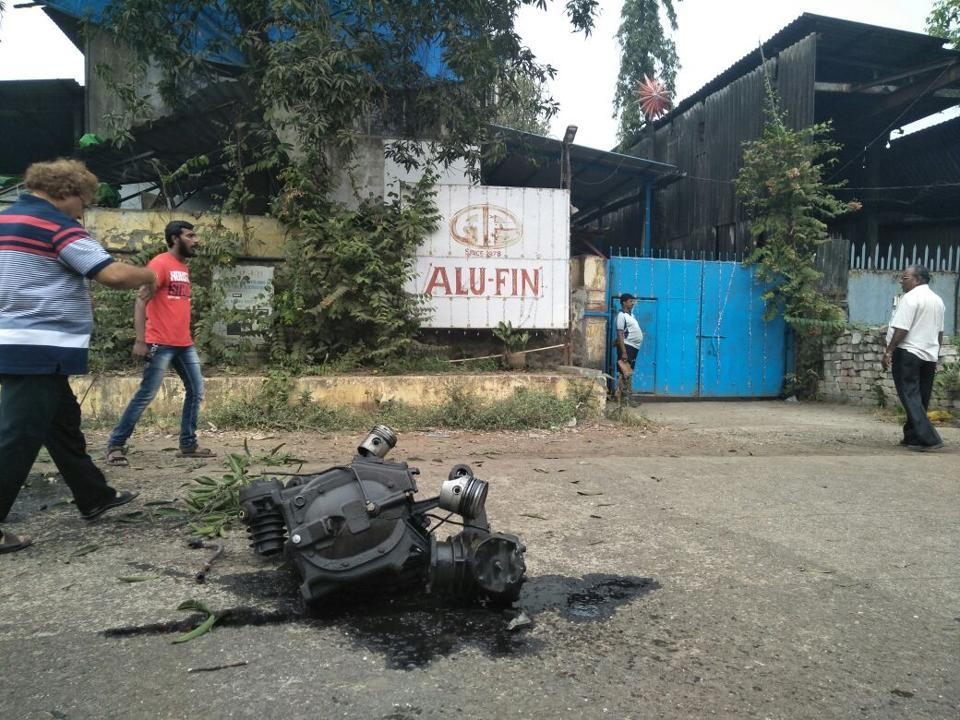 Reciprocating Air Compressor Blast in Dombivli Factory near Mumbai