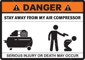 air compressor explosion stay safe