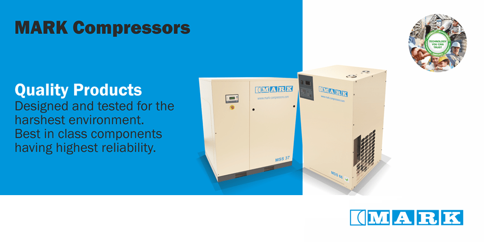 Mark Air Compressors and Accessories a division of Atlas Copco