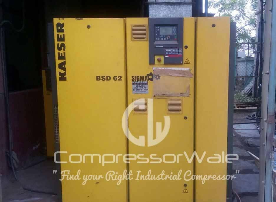 Kaeser Kompressoren 30 kW Screw Air Compressor Model: BSD-62