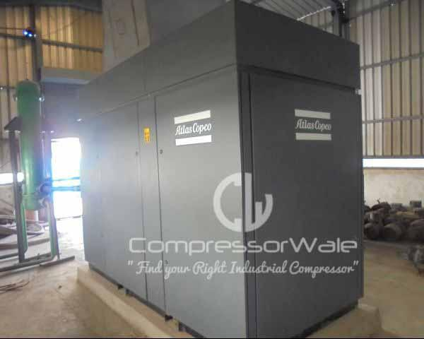 Atlas Copco ZT 90 FF 7.5 Bar Oil Free Air Cooled Screw Air Compressor