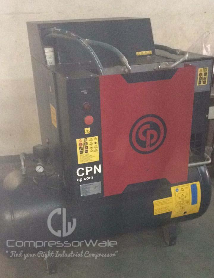 Chicago Pneumatic Screw Air Compressor 10HP