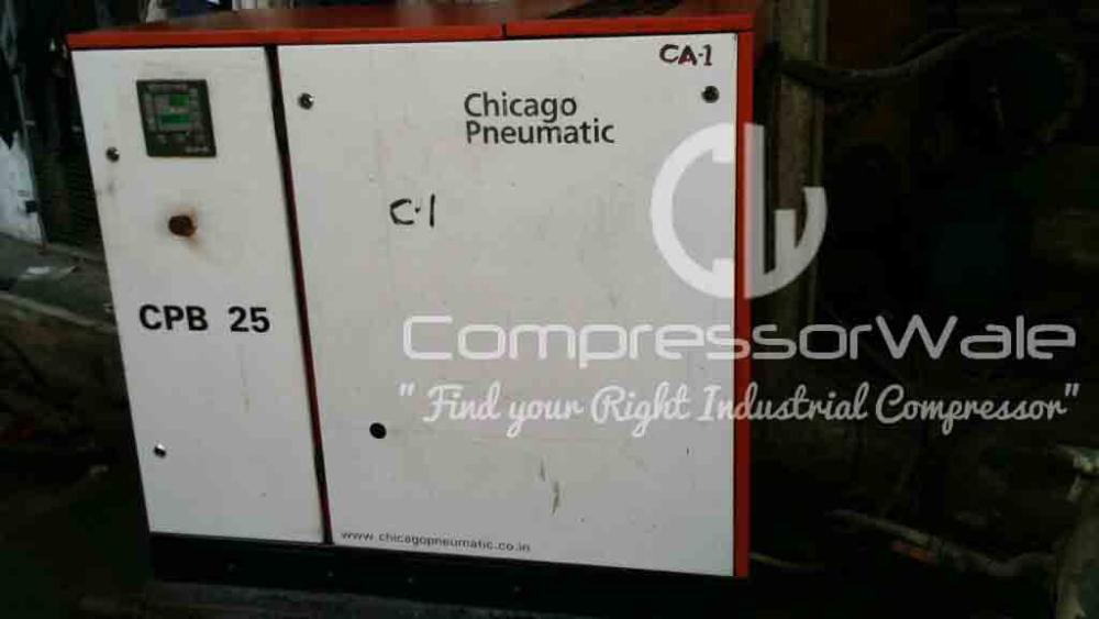 Chicago Pneumatic 25HP Screw Air Compressor, Mumbai
