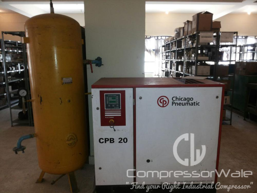 Chicago Pneumatic Screw air compressor