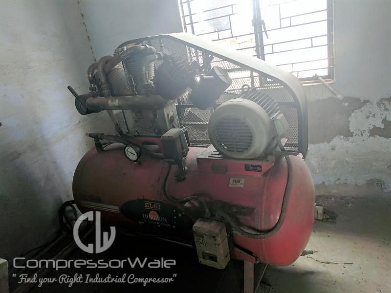10HP Elgi Reciprocating Piston Air Compressor, Delhi