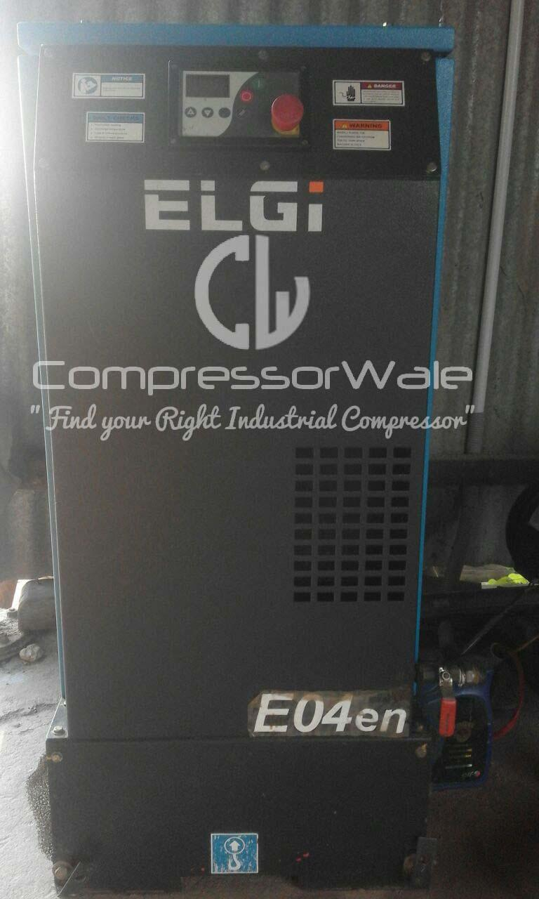 Elgi E04en Screw Air Compressor 4kW