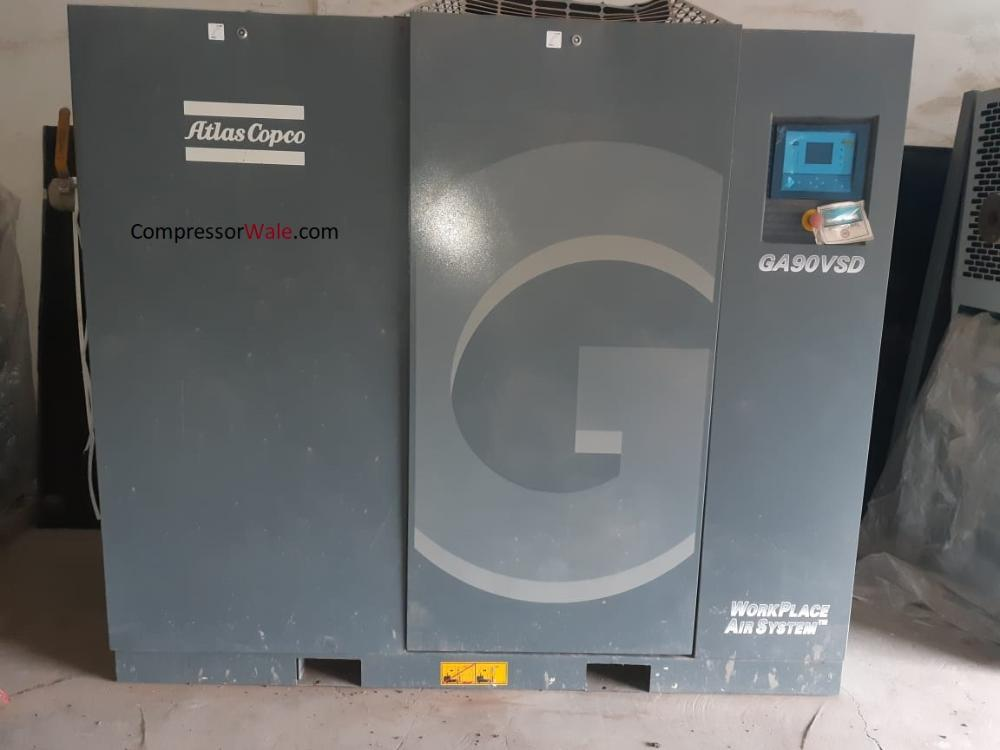 Atlas Copco Screw Air Compressor GA90 VSD, Mumbai