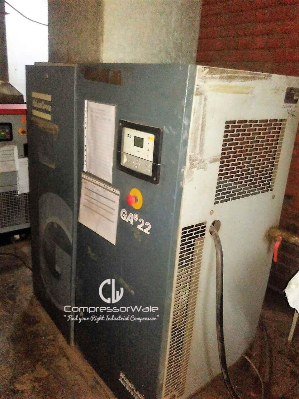 Atlas Copco GAe22 Screw Air Compressor 10 Bar