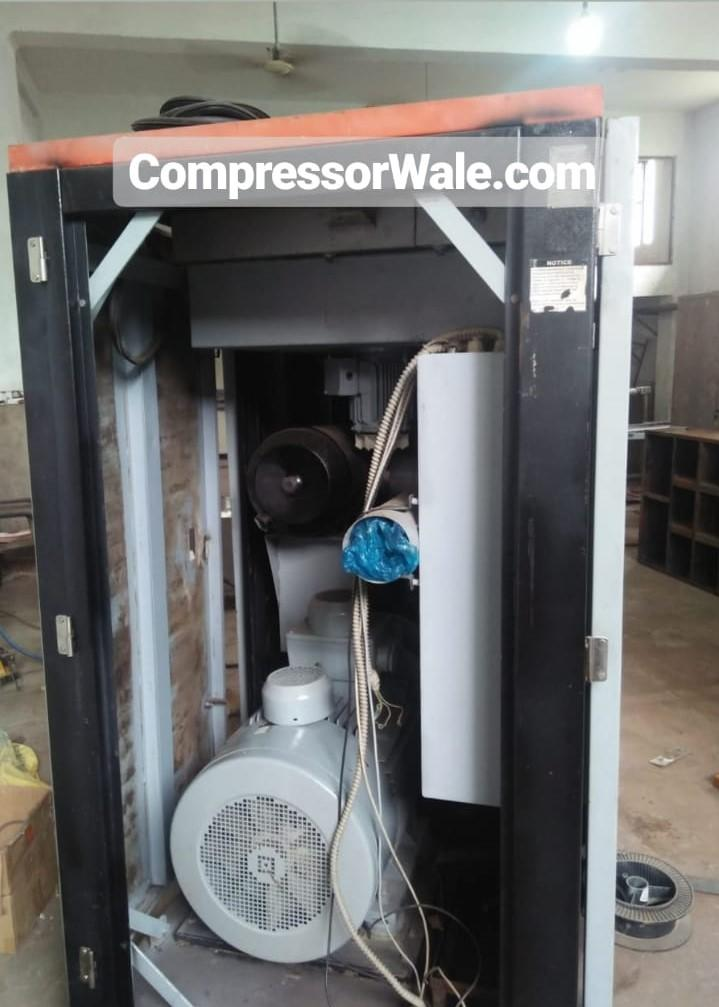 Second Hand Elgi Screw Air Compressor E55, Uttar Pradesh