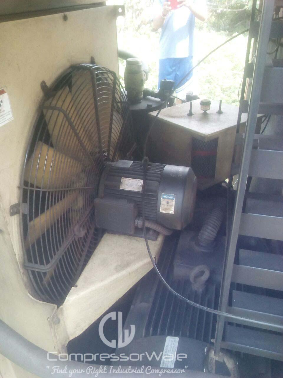 Mobile Air Compressor >> Used Ingersoll Rand ML75 Screw Air Compressor for Sale in ...