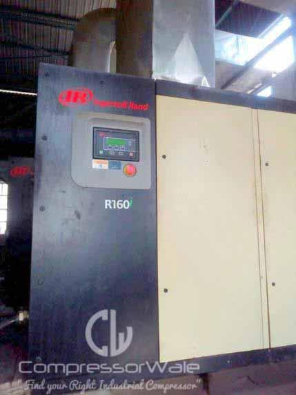 Used Ingersoll Rand R160i 8 5 With Refrigerated Dryer