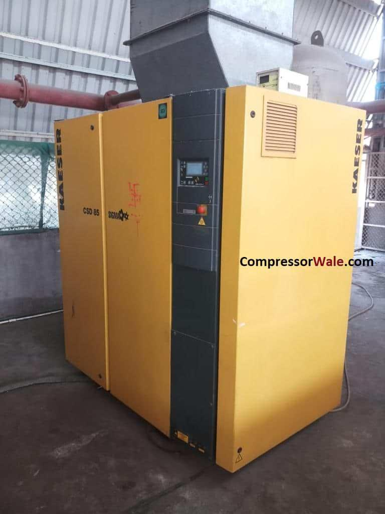 Second Hand Used Kaeser Screw Air Compressor 45Kw-60HP CSD85