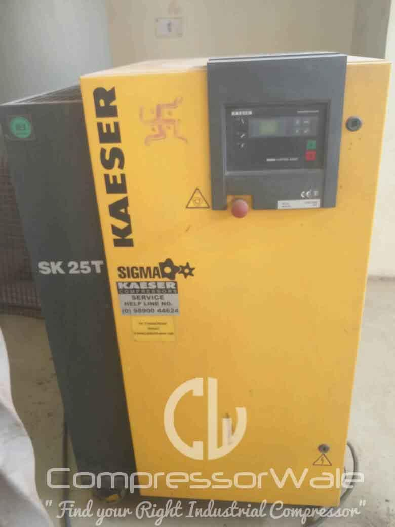 Good as New, Kaeser SK-25T Screw Air Compressor with Integrated Dryer, Gurgaon