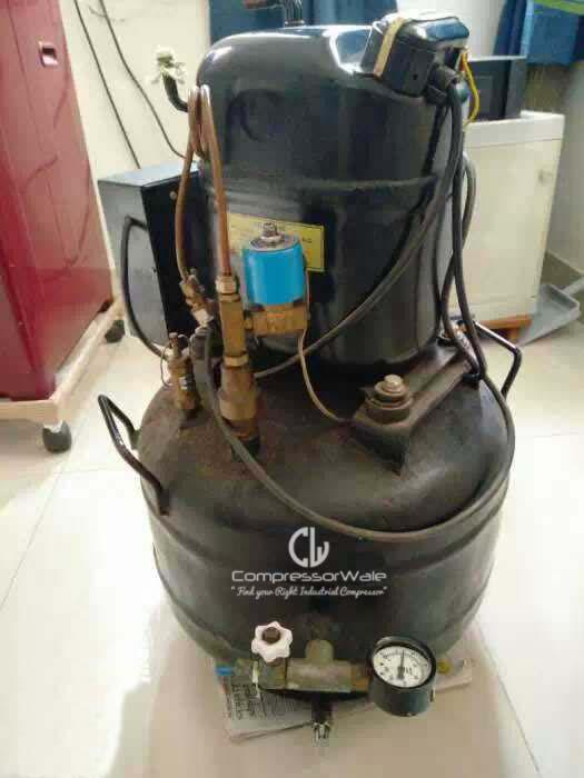 1HP Kirloskar Copeland Reciprocating Air Compressor