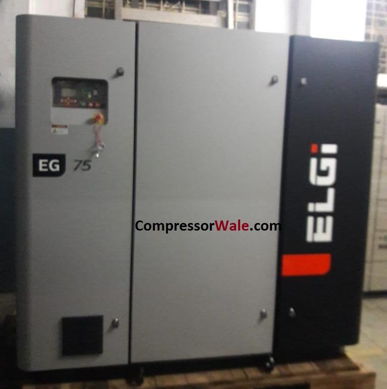 Second Hand Screw Air Compressor ELGi 75Kw 100 HP