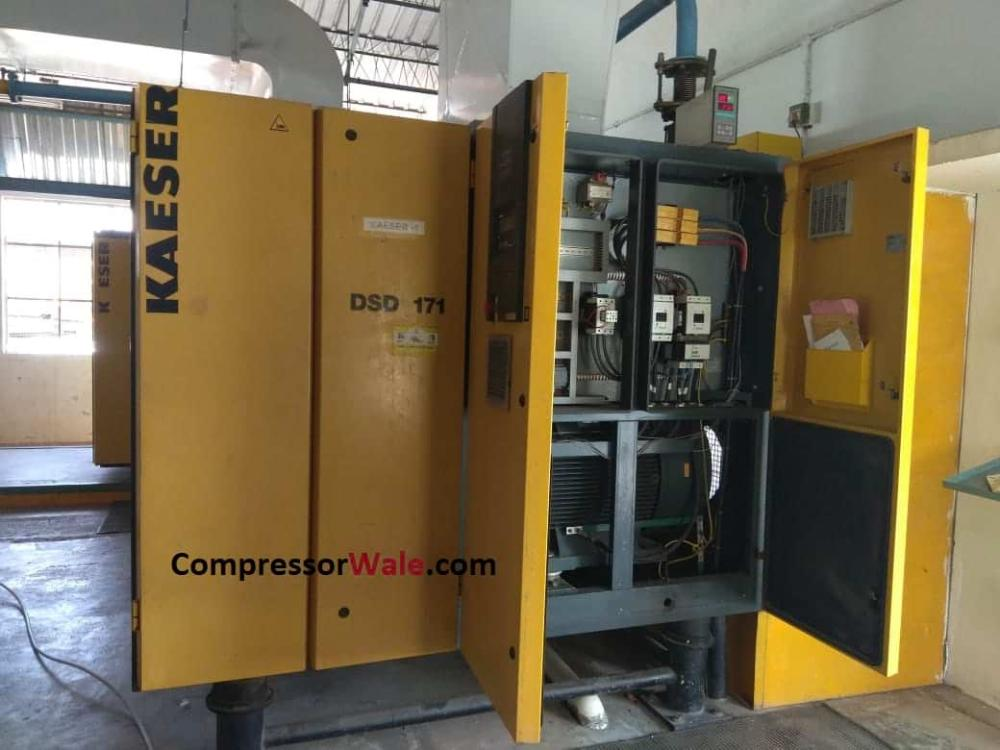 Second Hand Kaeser DSD 171 90kw 120HP South India