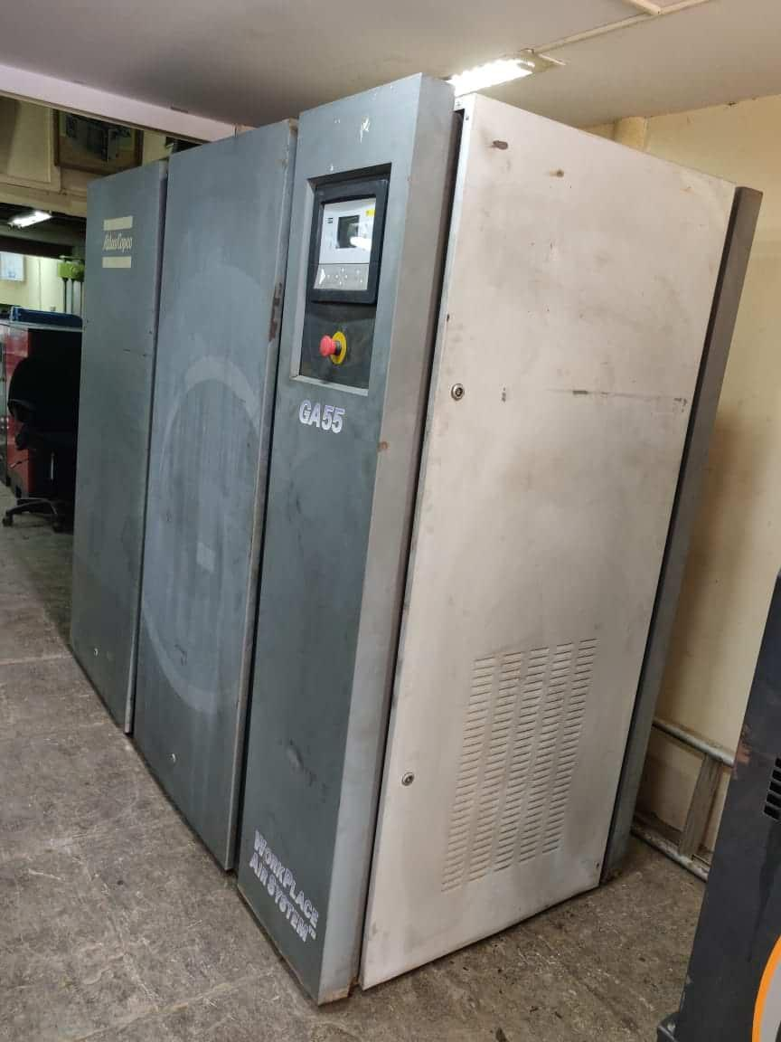 Second Hand Used Atlas Copco GA55 India running condition