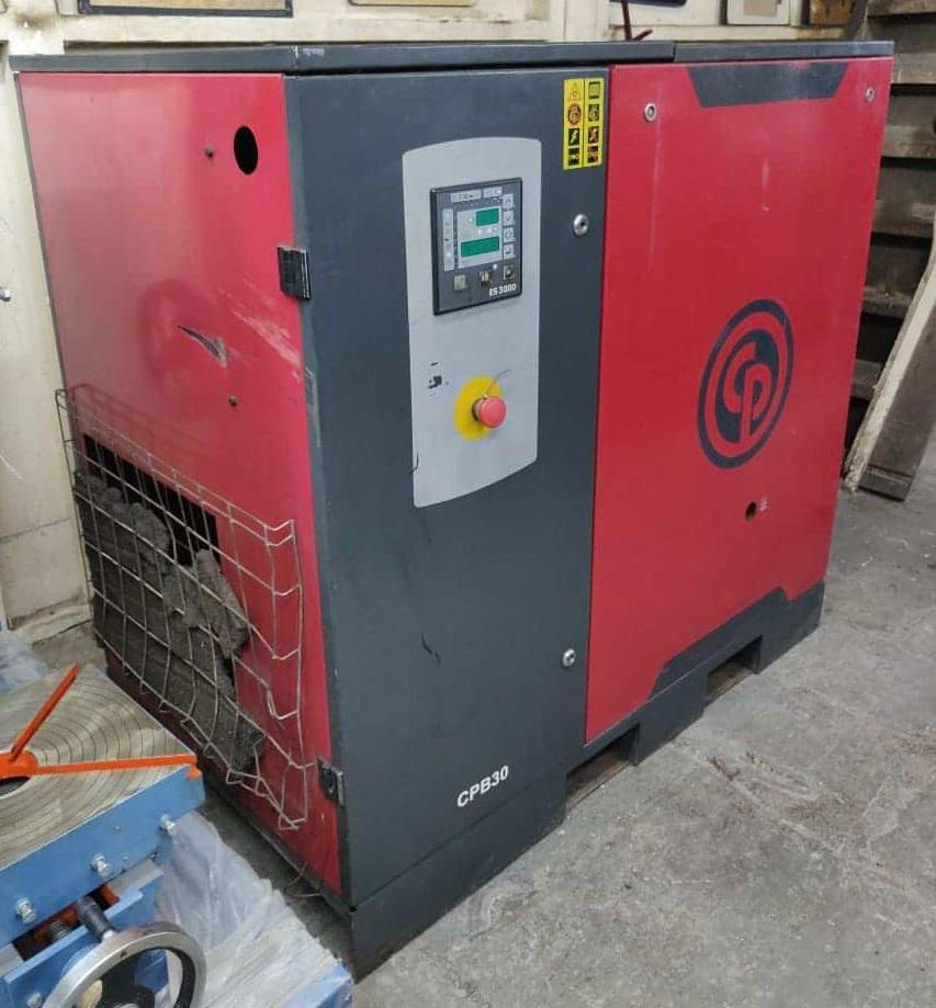 Second Hand Used CPB30 22Kw 30HP Screw Air Compressor Mumbai