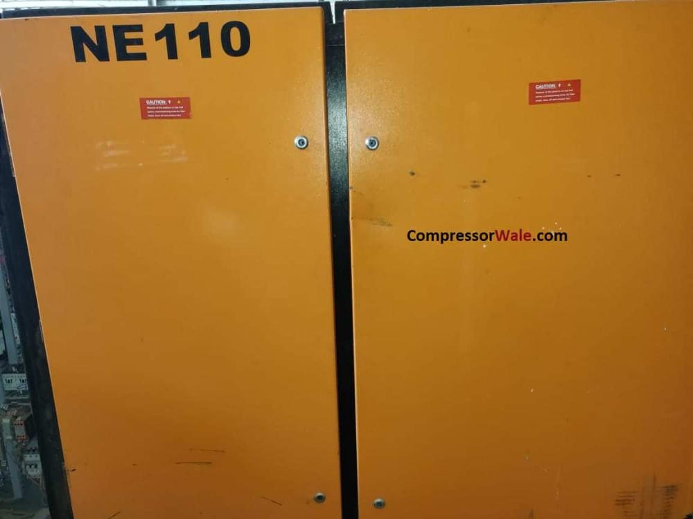 Second Hand Ued Elgi oil-free screw air compressor 110kw 150HP 600cfm Gujarat