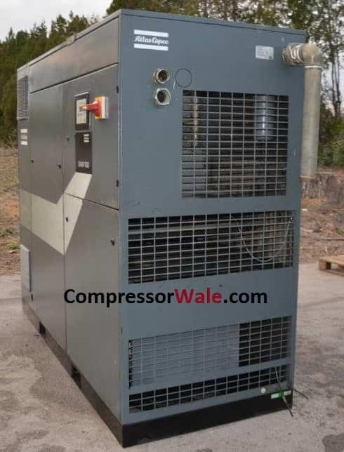 Second Hand Used Atlas Copco Screw Air Compressor 90Kw 120 HP, Europe