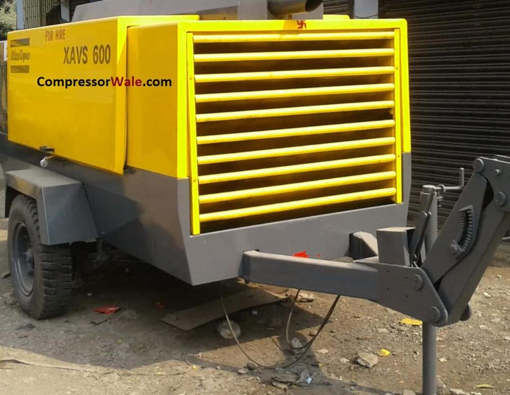 Second Hand Used Diesel driven Atlas Copco XAVS 600, Mumbai