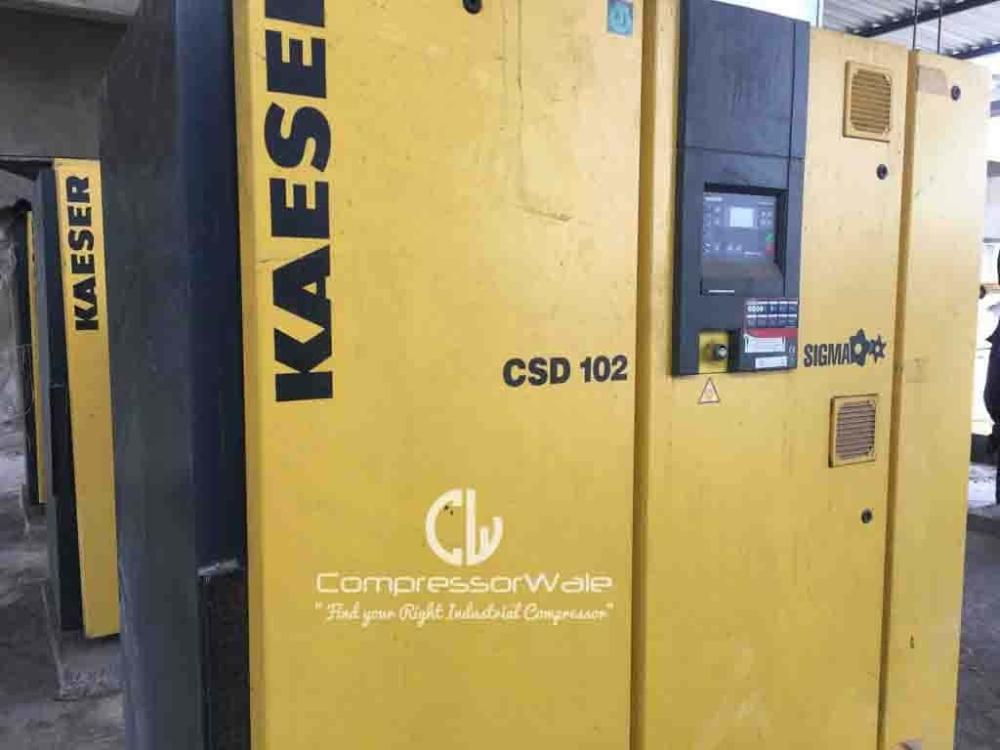 Kaeser Screw Air Compressor CSD 102 for sale in Kolhapur, Maharashtra