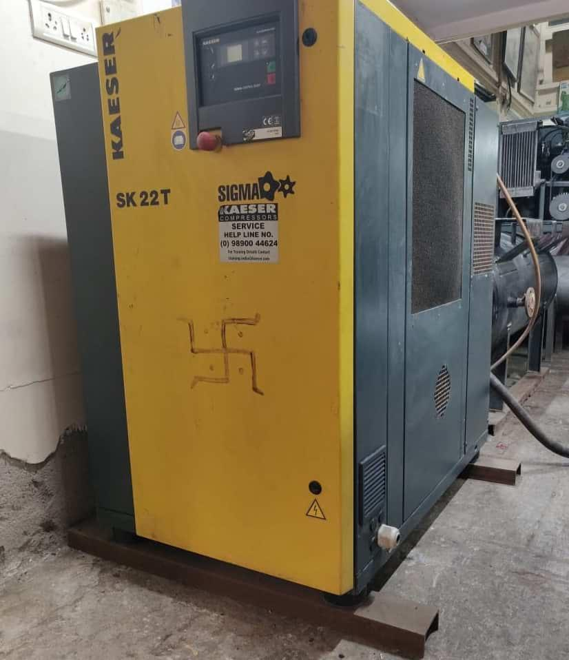Used-Kaeser-Screw-Compressor-15HP-India