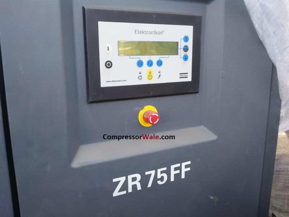 Atlas Copco Screw Air Compressor 100HP ZR75FF, Gujarat