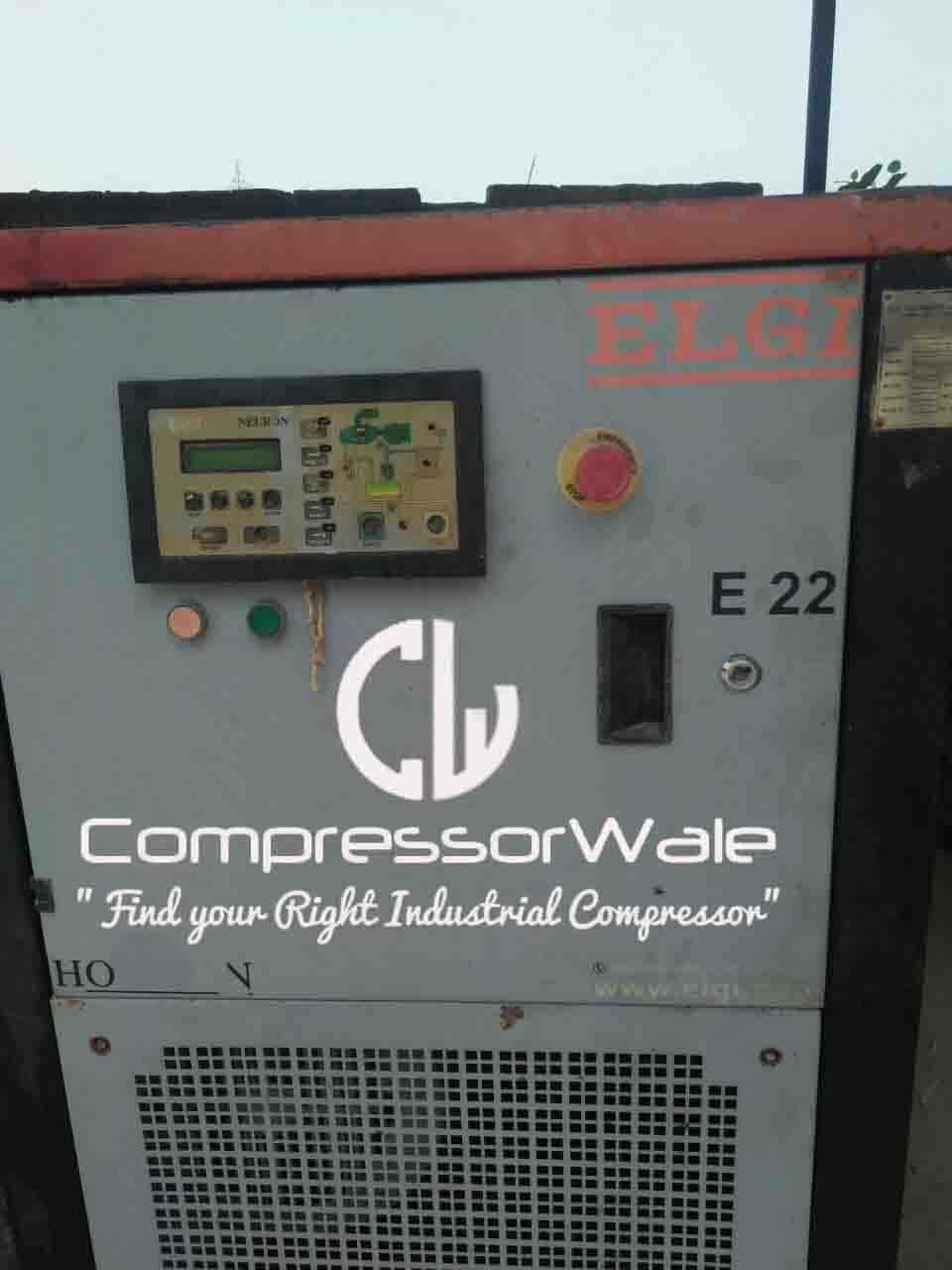 Second-Hand Screw Air Compressor for Sale Model E22 by Elgi Equipments limited