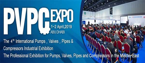 PVPC Expo Abu Dhabi on 1st and 2nd April 2019