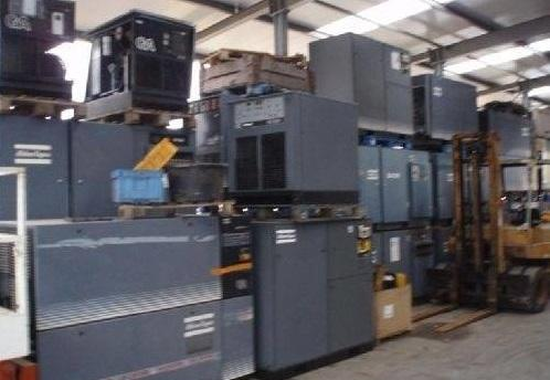 Atlas Copco, ELGI, Ingersoll Rand, CP Used Screw Air Compressors, Chennai